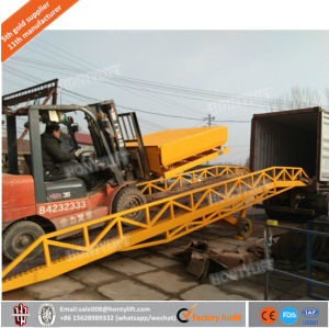 5t-20t Capacity Mobile Container Yard Ramp Price Truck Hydraulic Used Dock Ramp pictures & photos