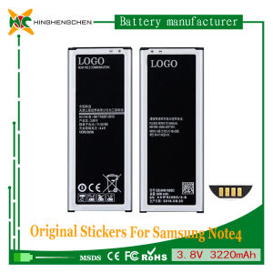 3220mAh 3.8V New Battery for Samsung Note 4 Sm-N9100 N9108V N9109W N9106W pictures & photos