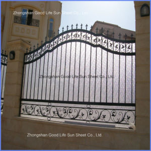 Export UV Resistant Diamond PC Polycarbonate Embossed Sheet for Door pictures & photos