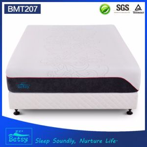 OEM Compressed Memory Foam Mattress 30cm with Double Jacquard Fabric Cover and Wave Foam pictures & photos