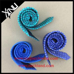 Azo Free Twill Silk Digital Printed Man Necktie pictures & photos