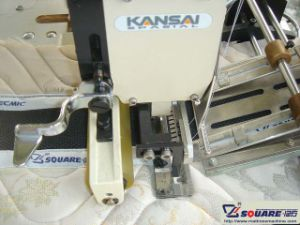 Mattress 3D Mesh Border Quilting Machine pictures & photos