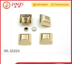 Metal Fastener Buttons/Studs Decorative Rivets Cord End for Handbags pictures & photos