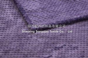 Super Soft New 3D Embossed Flannel Fleece Blanket / Cut Fleece Blanket pictures & photos