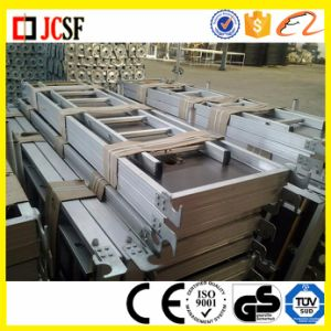 Aluminum Stair Put up Along with Ringlock Scaffolding Low Price Good Quality pictures & photos