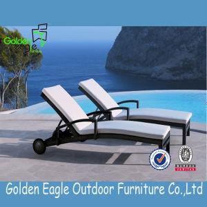 Garden Wicker Outdoor Rattan Patio Furniture Pool Sunlounger pictures & photos