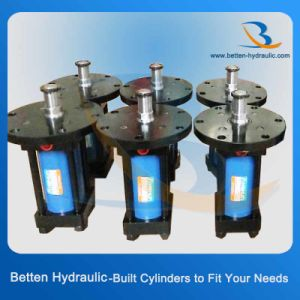 High Pressure Hydraulic Cylinders with a Front Flange Mount pictures & photos
