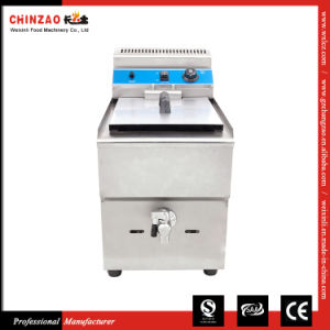 China Supplier 17L Countertop Commercial LPG Gas Fryer pictures & photos