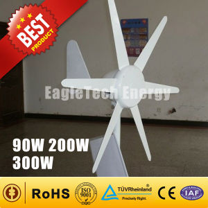 300W Wind Turbine Generator Solar Hybrid Streetlight Wind System Wind Turbine