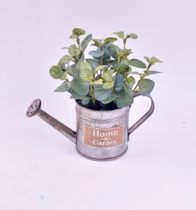 Money Leaves in Iron Watering Can with Label pictures & photos