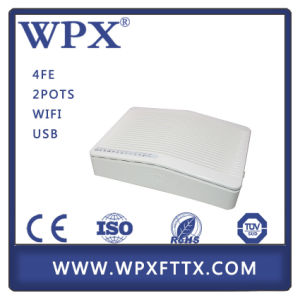 4fe + 2 FXS Gepon ONU (WPX-EU9044) pictures & photos