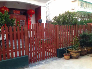 Waterproof Durable Landscaping Wood Plastic Composite Fencing Material pictures & photos