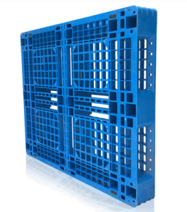 High Quality Warehouse Products 1400*1200*150mm HDPE Plastic Tray Grid 1.5t Rack Load Plastic Pallet with 7 Steel Bar pictures & photos