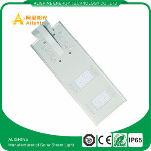 Manufacturer Supply 20W All in One, Integrate Solar Street Outdoor LED Light with PIR Sensor pictures & photos