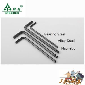 Hex Key Set with Magnetic for Long Time pictures & photos