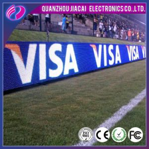 P10 Outdoor Sport LED Display Football Stadium Perimeter LED Display pictures & photos
