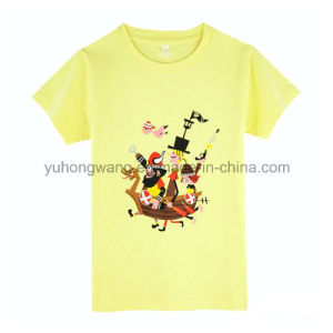 Hot Selling Cotton Kid′s Printed T-Shirt