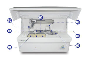 Hospital Equipment Automation in Hematology Laboratory Analyzer pictures & photos