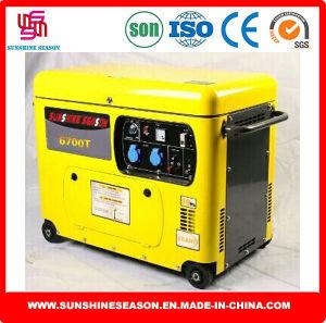 Sounproof Generator 5kw Silent Type SD6700t pictures & photos