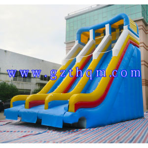 Inflatable Water Slide with Pool for Kids and Adults/Custom PVC Tarpaulin Inflatable Water Slide pictures & photos