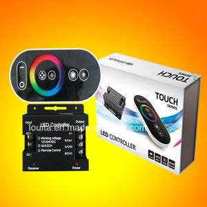 Wireless Touch Panel RF Remote Controller for RGB LED Strip Light pictures & photos