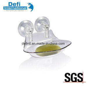 Strong Suction Cup Soap Dish for Bathroom pictures & photos