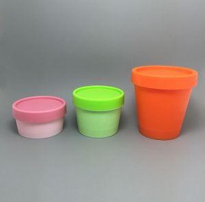 Plastic Cream Jar Facial Jar Cosmetic Container pictures & photos