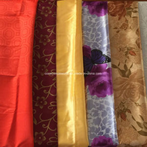 100%Polyester Disperse Printed Satin for Quilt Cover 90GSM pictures & photos