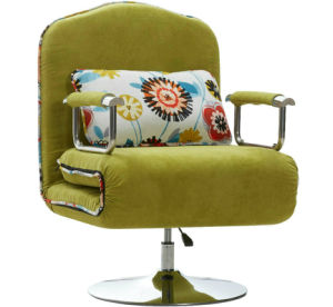 Swivel Chair as Sofa Bed for Samll Family Hospital Hotel pictures & photos