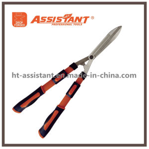 Tension Adjuster Teflon Coated Straight Hedge Shears with Extendable Handles pictures & photos