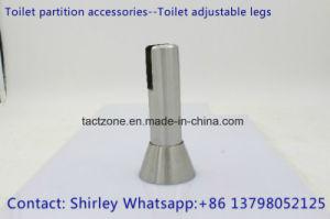 New Design Toilet Cubicle Partition Accessories Steel Adjustable Legs pictures & photos