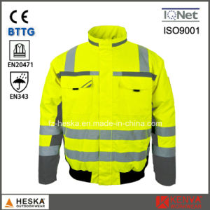 High Visibility 3m 8906 Waterproof Pilot Jacket Hi Vis Bomber Jacket pictures & photos