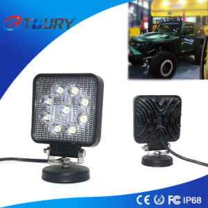 27W Squre LED Work Lamp Light for Tractor SUV pictures & photos