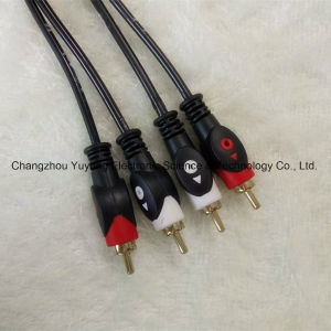 Eyefish 2r to 2r Audio/Video AV RCA Cable pictures & photos
