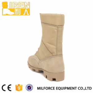 Quick Wear Waterproof Fabric Desert Army Military Boots pictures & photos