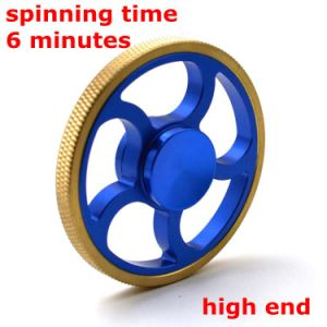 Round Wheel Shape Long Spinning Time Fidget Hand Spinner pictures & photos
