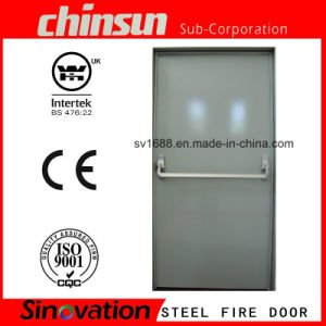 Steel Fire Door with Panic Push Bar pictures & photos