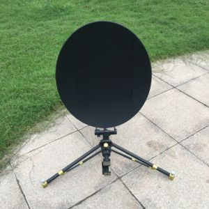 0.6m Carbon Fiber Rxtx Flyaway Satellite Antenna pictures & photos