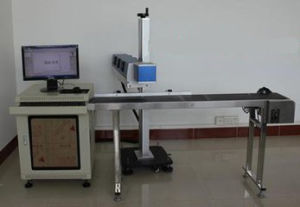 Flying on-Line Fiber Laser Marking Machine pictures & photos