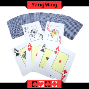 100% Plastic Texas Holdem Club Dedicated Poker Playing Cards Scrub Characters PVC Card Ym-PC04 pictures & photos