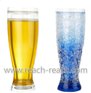 Frosty/Frozen Beer Ice Mug with Gel (R-7008) pictures & photos