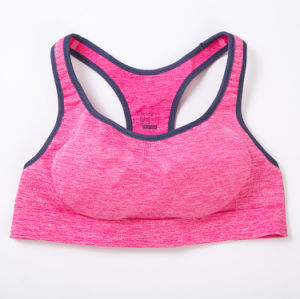 First Comfort Women′s Running Sports Bra Black pictures & photos