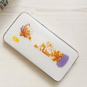 Chinese Style Mobile Power Bank with Crystal Design 10800mAh pictures & photos