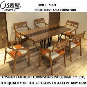 Big Size Solid Wood Dining Table Home Furniture CH-633 pictures & photos