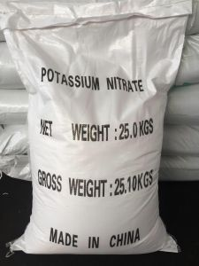 Potassium Nitrate with Industril & Fertilizer Grade pictures & photos