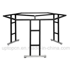 Stainless Steel Hexagontable Base with 3 Legs for Large Table Top (SP-STL286) pictures & photos