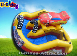Factory Price Car Shape Inflatable Combo pictures & photos
