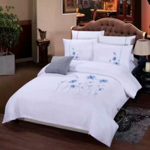 Hotel Linen 100%Cotton White Bedsheets pictures & photos