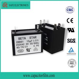 AC Fan Capacitor Cbb61 for Fan Use pictures & photos