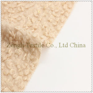 100% Polyester Woolen Fabric for Overcoat Garment pictures & photos